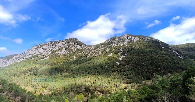 pan d'une montagne des Corbières