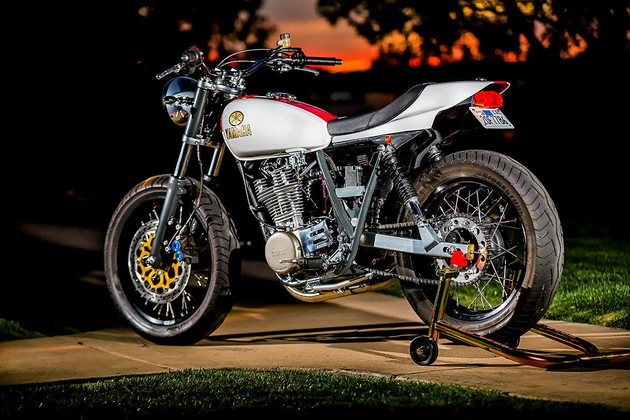 Racing caf yamaha sr 500 street tracker by mule motorcycles for Yamaha moter cycle