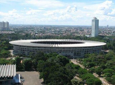 Stadion Utama Gelora Bung Karno pernah menjadi ke-4 terbesar