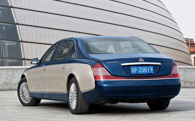 Maybach Edition 125  back