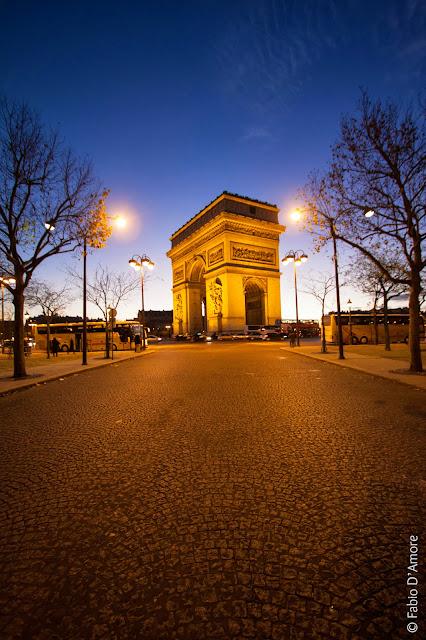 Arc de triomphe-Parigi