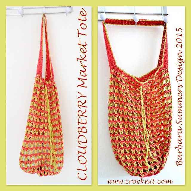 cloudberry market tote crochet bag pattern