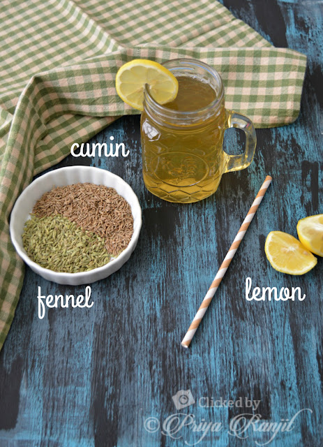 Fennel weightloss drink