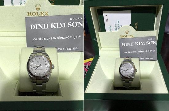 Cửa hàng thu mua đồng hồ cũ chính hãng Rolex - patek philippe - hublot - omega -