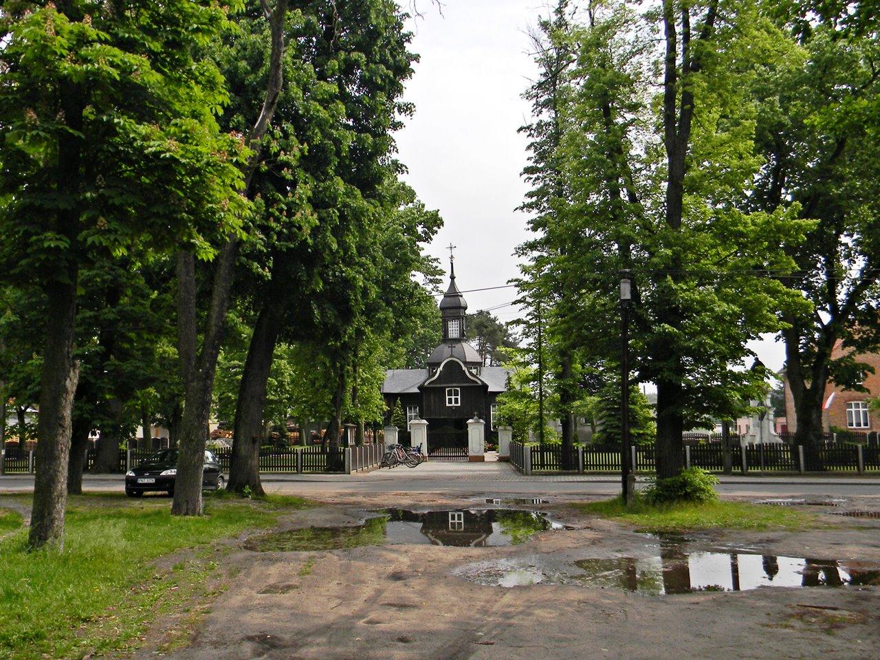 drewniany kościół, miejsca kultu, piękno, architektura