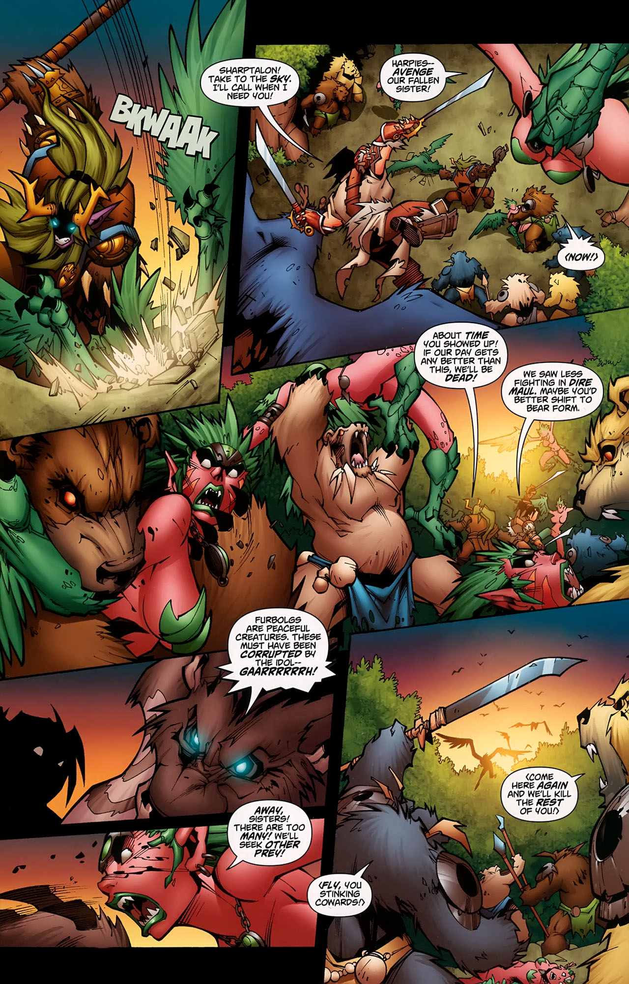 Read online World of Warcraft comic -  Issue #5 - 4