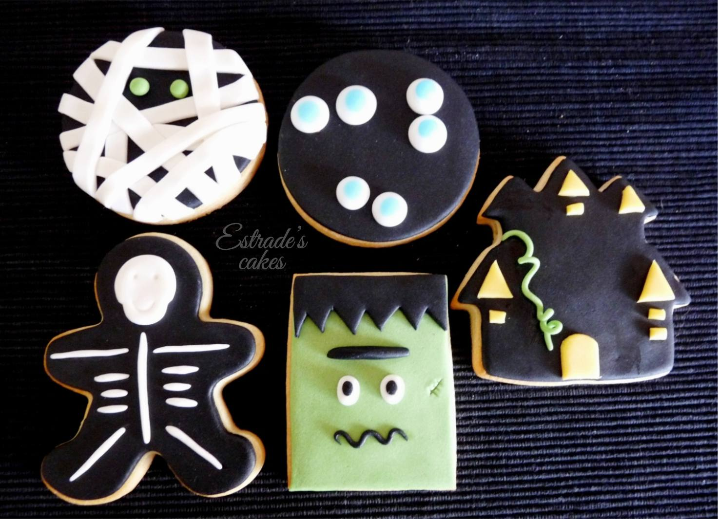 galletas de Halloween con fondant - 1