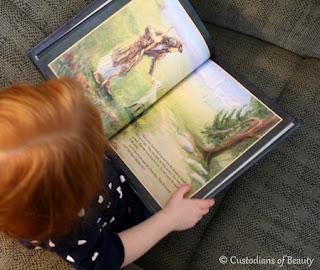 Advent Book: The Crippled Lamb | by CustodiansofBeauty.blogspot.com