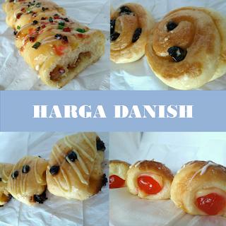 Harga Danish, Harga Danish pastry, Harga danish murah, Harga Danish Pastry Jogja Murah