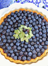 Easy Blueberry Tart