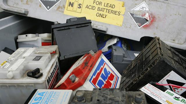 Comment se débarrasser des batteries de voiture