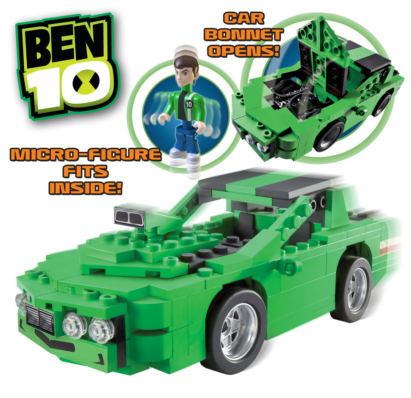Madhouse Family Reviews: Ben 10 Kevin's Car Construction