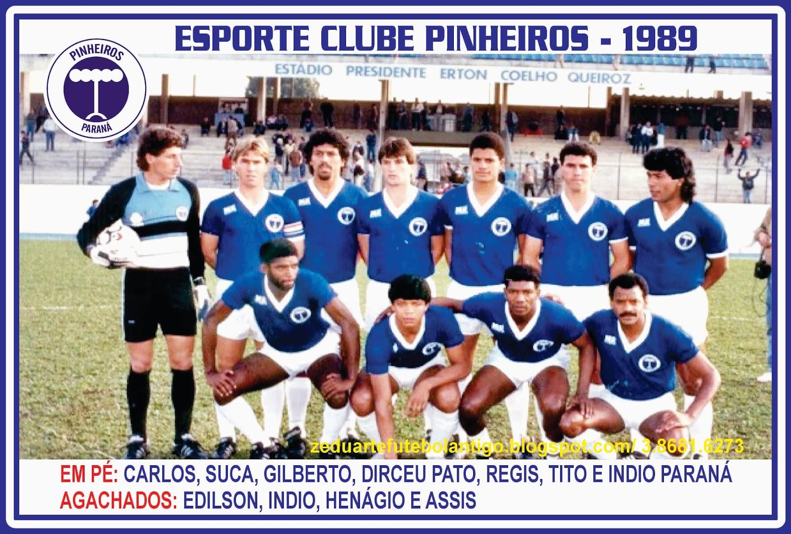 b823718808 A história do Pinheiros termina no dia 19 de dezembro de 1989