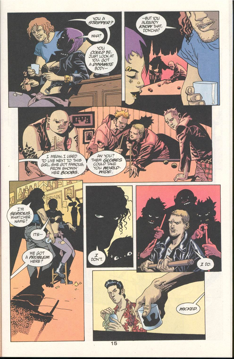 Read online 100 Bullets comic -  Issue #21 - 16