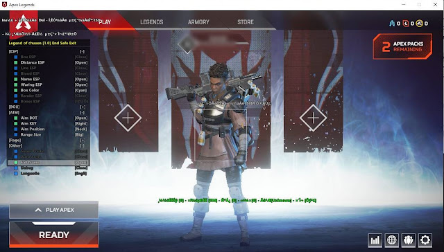 10 Maret 2019 - Mand 6.0 (Upgrade v4 to V5 Eng Version Low CPU) | Daily UPDATE! Apex Legends PC Cheats Wallhack, ESP, Aimbot and No Recoil FREE