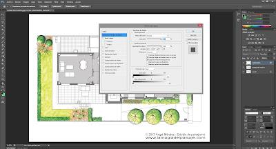 sketch architecture photoshop