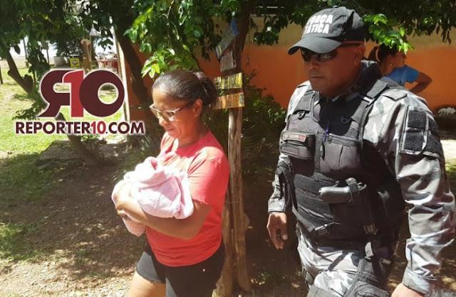 Recém-nascido é encontrado dentro de sacola plástica em banheiro no Piauí