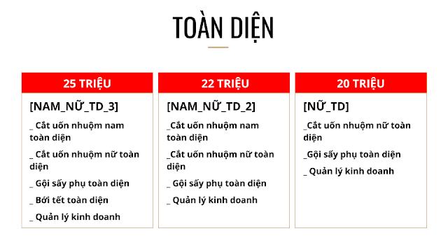 Khóa học toàn diện trọn gói cắt uốn nhuộm tạo kiểu tóc nam nữ tomboy barber tại Hà Nội