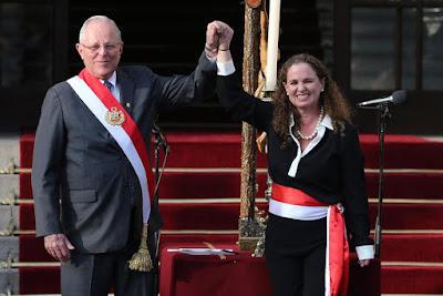 Mercedes Araoz sworn in as Peru's Prime Minister