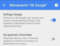 Attivare Ok Google su Android parlando in italiano