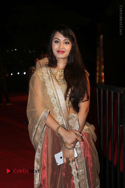 Actress Vennela Stills in Lehenga Choli at Gemini TV Puraskaralu 2016 Event  0001.JPG