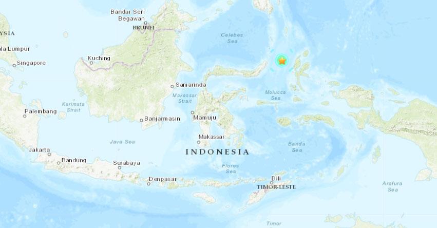 Terremoto en Indonesia de Magnitud 6.1 - Alerta de Tsunami (Hoy Domingo 24 Marzo 2019) Sismo - Temblor - Epicentro - Molucas - Bitung - USGS - www.earthquake.usgs.gov