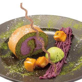 紫芋ロール(2017年秋)