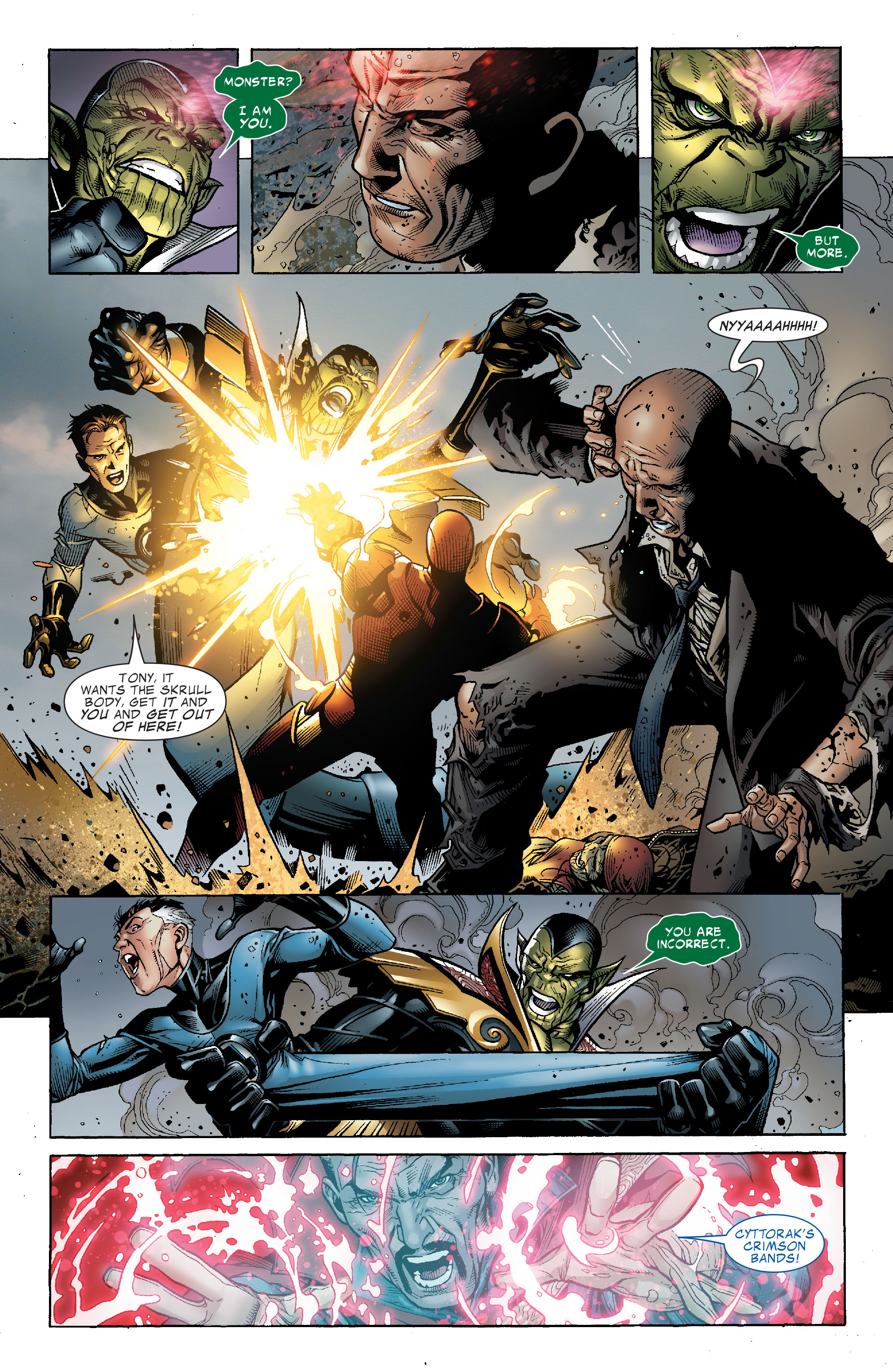 Read online Secret Invasion: The Infiltration comic -  Issue #2 - 13