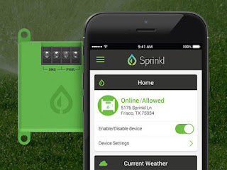 Sprinkl Conserve Smart Irrigation System