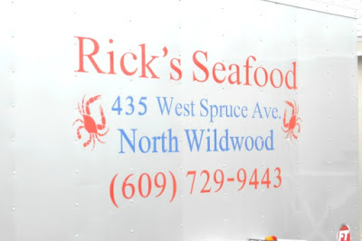 Rick's Take-Out Seafood North Wildwood New Jersey