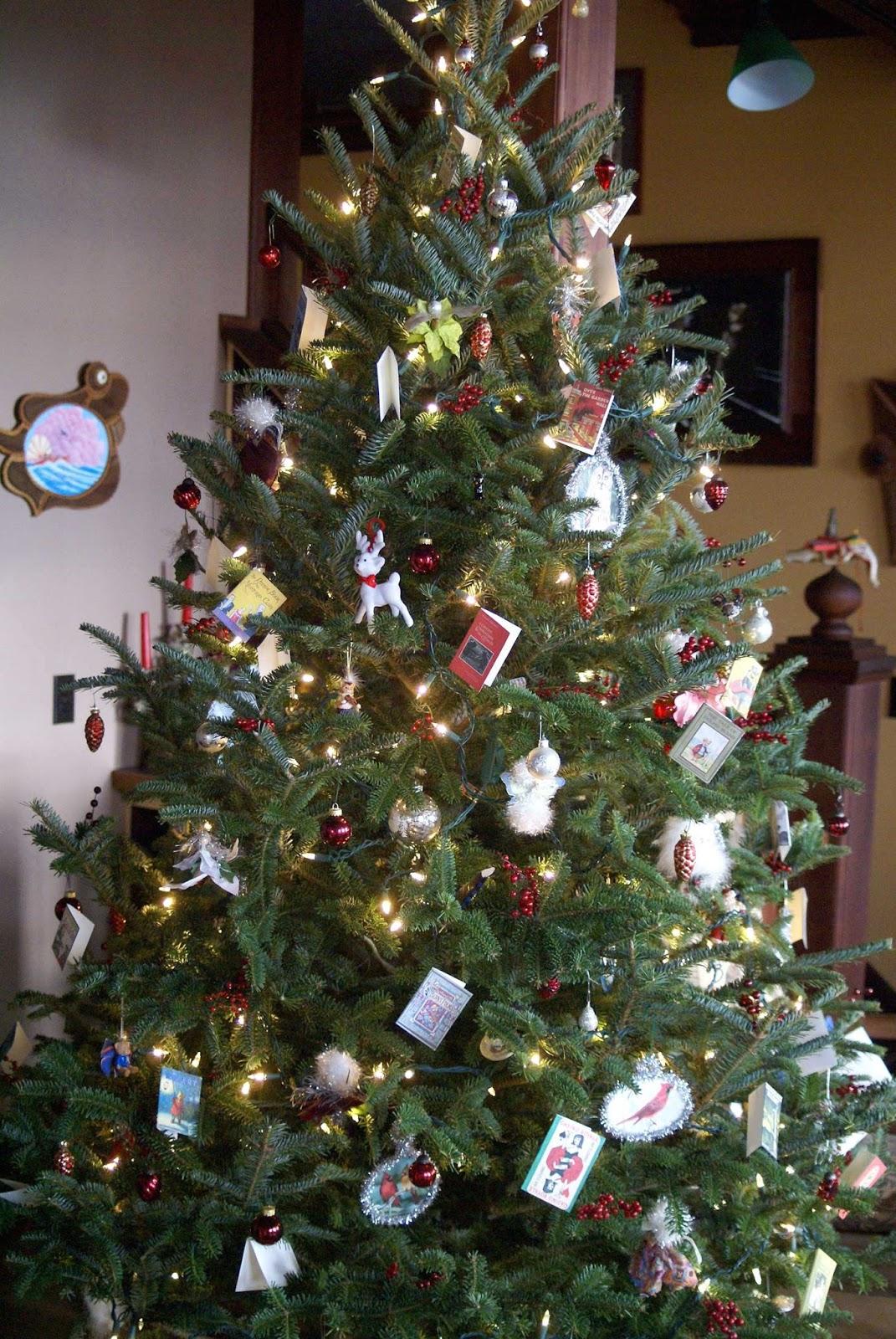 England Christmas Tree.Michael Haag An English Christmas In New England
