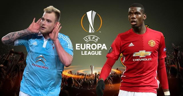 Celta de Vigo x Manchester United (04/05/2017) - horário e TV (Europa League)