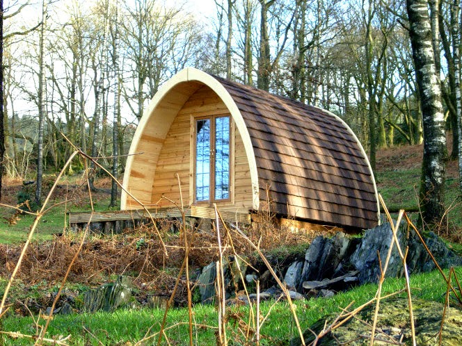 Roulotte in legno for Casa mobile in legno