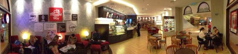 Pacific Coffee, New Outlet, Sunway Pyramid, coffee, pacific coffee interior design, coffee house interior design