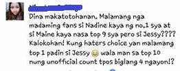 Nadine Lustre - FHM Most Sexiest 2017. See How Netizens React!