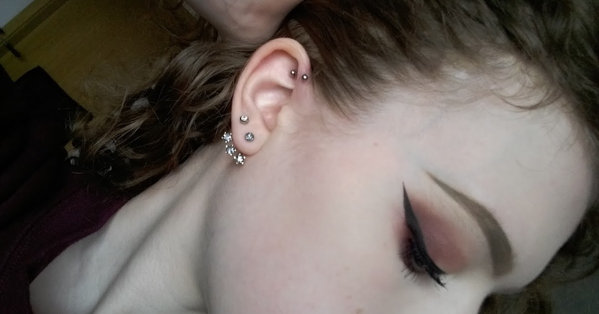 Emilia Rachael Forward Helix Piercing Process Pain And Aftercare