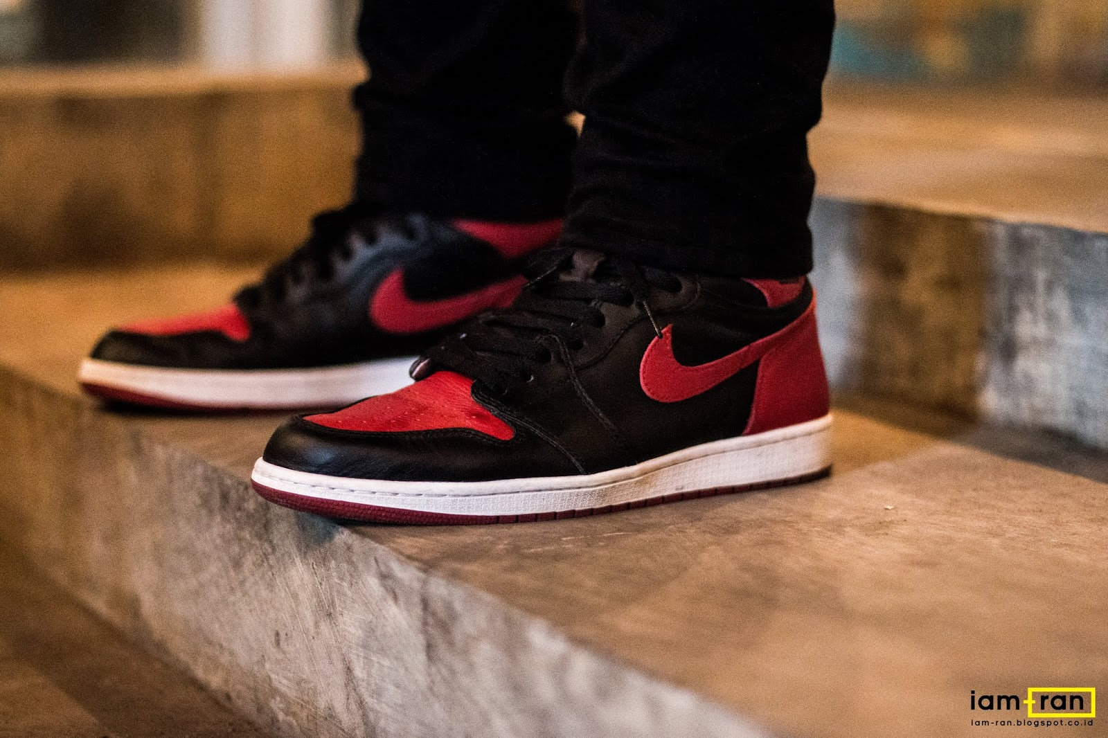 promo code d6687 9b004 IAM-RAN: ON FEET : Ryan - Nike Air Jordan 1