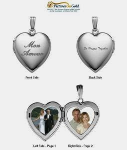 Pictures On Gold Heart Locket Giveaway