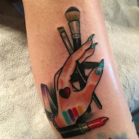 fotos de tatuajes de maquillaje