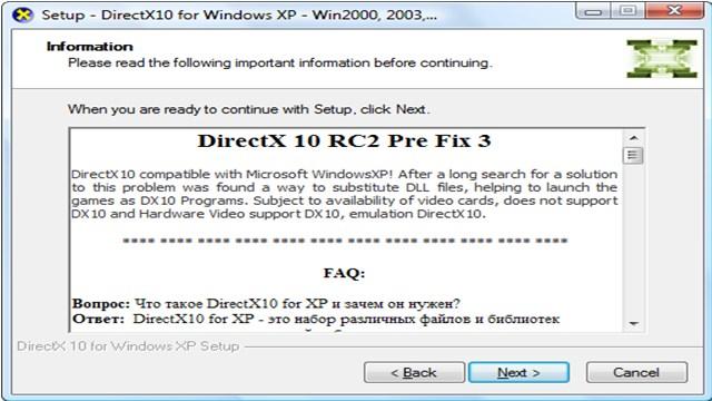 directx 10 download windows xp