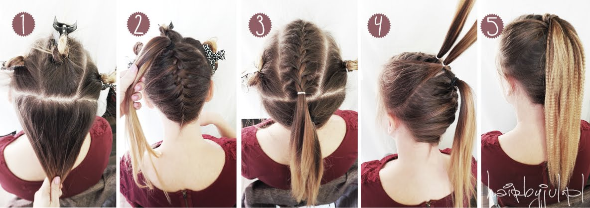 3 Fryzury Na Sylwestra Krok Po Kroku Hair By Jul Fryzury Krok Po