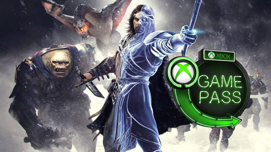 xbox game pass 2019 middle earth shadow of war