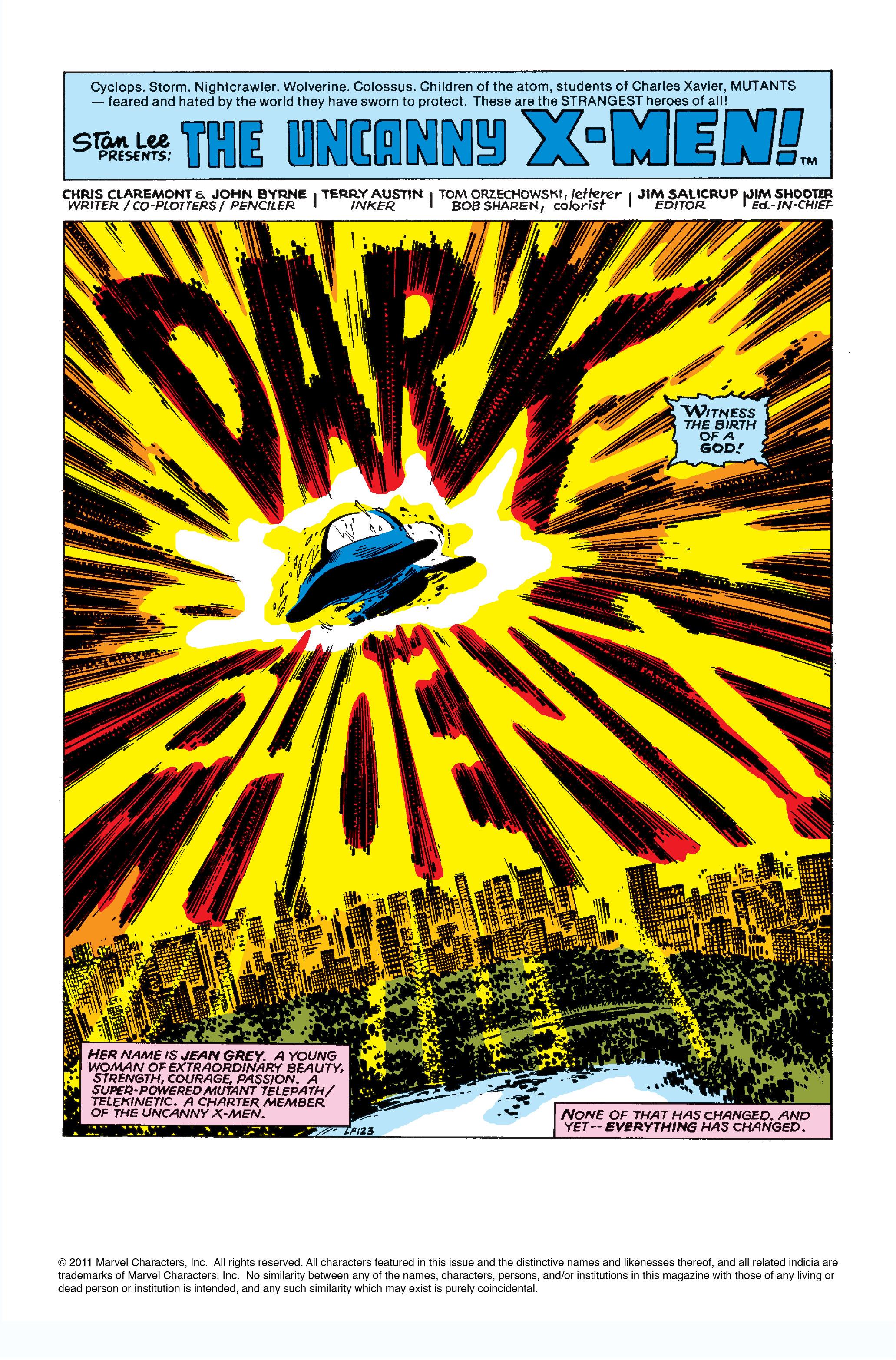 Read online Uncanny X-Men (1963) comic -  Issue #135 - 2