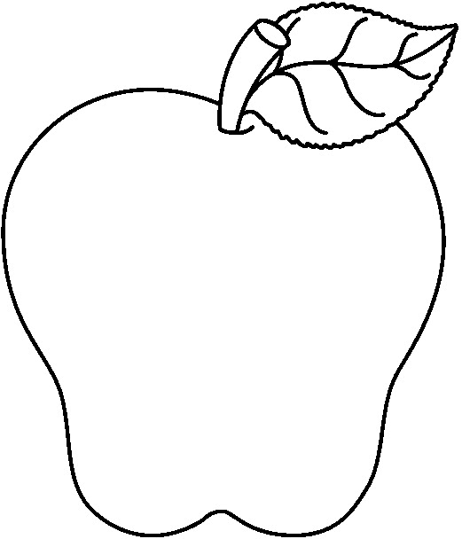 clipart apple pages - photo #14