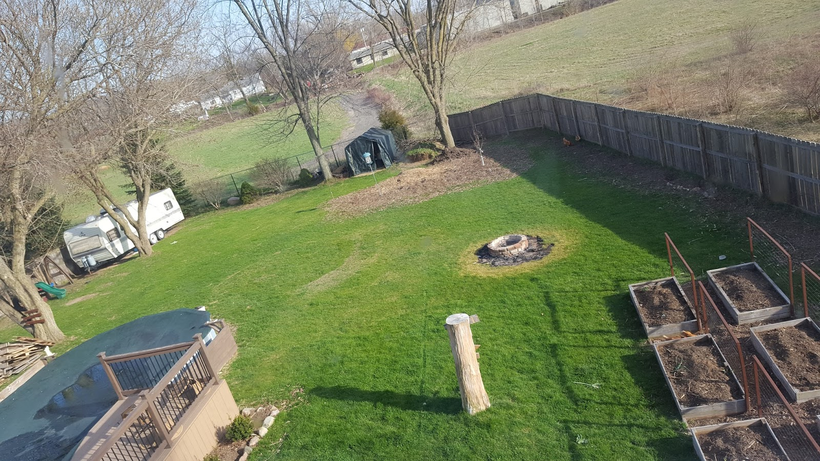 simple suburban living