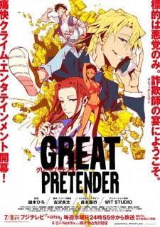الحلقة  1  من انمي Great Pretender مترجم بعدة جودات