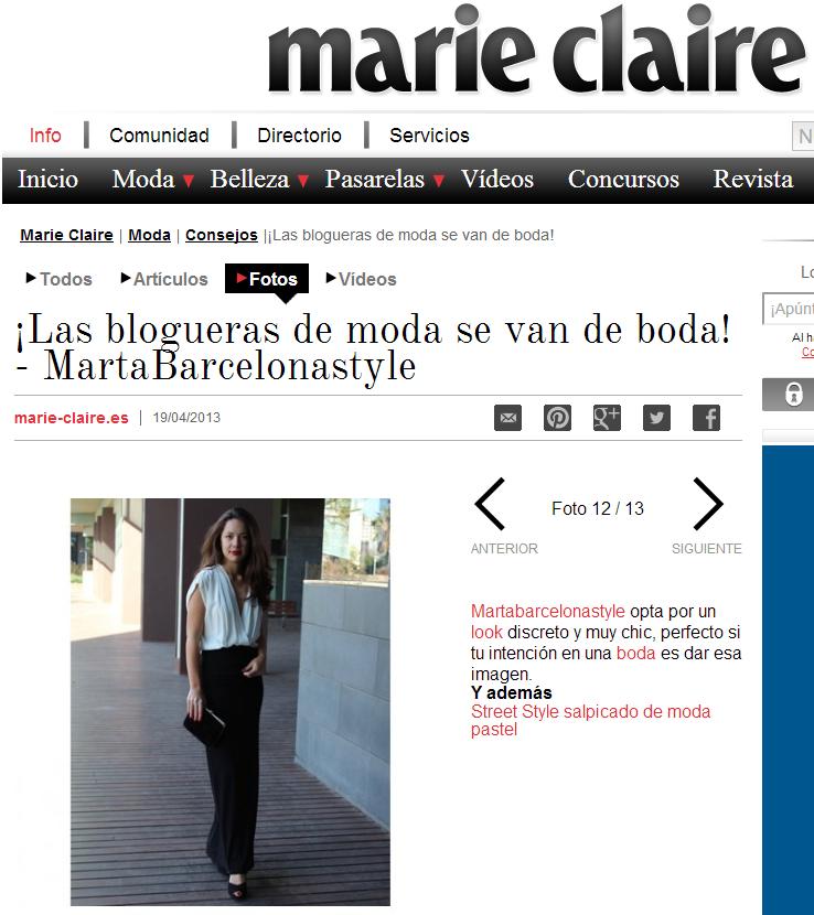 ¡Las blogueras de moda se van de boda! - MartaBarcelonaStyle