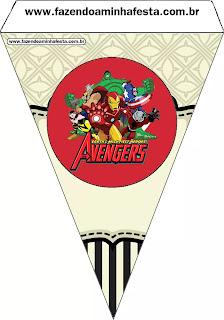 Fiesta de los Vengadores: Imprimibles Gratis para Fiestas.