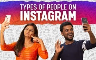 Types of people on Instagram | Vertical video