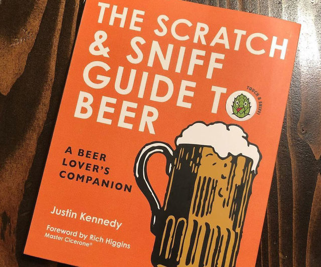 To truly know a beer, it isn't enough to just taste it. Become a beer connoisseur with the Scratch & Sniff Guide to Beer. This intriguing read is divided into eight chapters that each introduce you to a different aspect of this beloved and oh-so-satisfying drink.